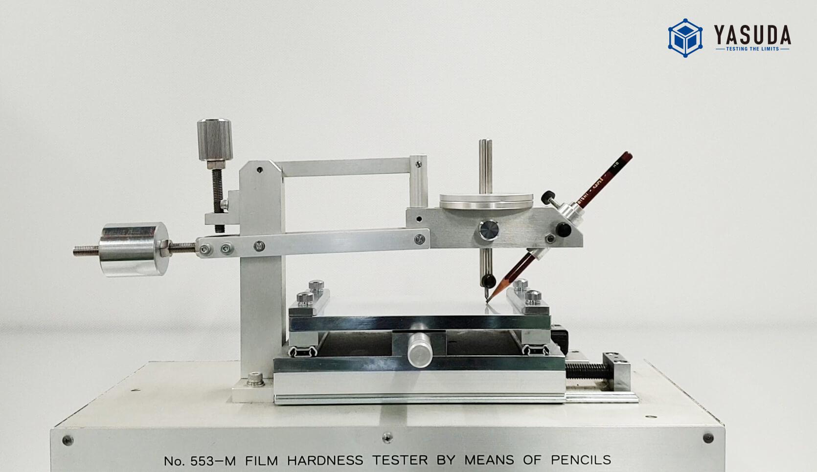 No.553 铅笔刮檫硬度试验机(涂膜硬度、涂装强度、铅笔刮檫试验机)插图